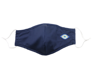 Navy Evil Eye Mask