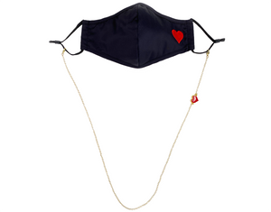 Heart Mask & Mask Chain