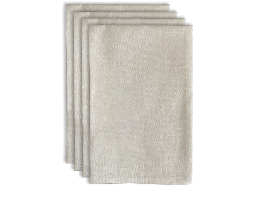 Linen White Napkin Set