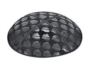 Suede Embossed Cake Kippot