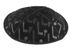 Suede Embossed Golf Kippot