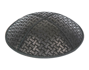 Suede Embossed Rocky Road Kippot