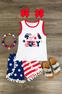 4th of July Outfit & Short Set