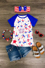Short Sleeve 4th of July Unicorn Shirt