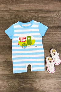 Happy Camper Baby Boy Romper