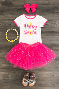 Daisy Scout Shirt and Skirt