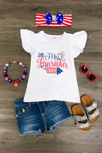 Little Miss Firecracker Shirt
