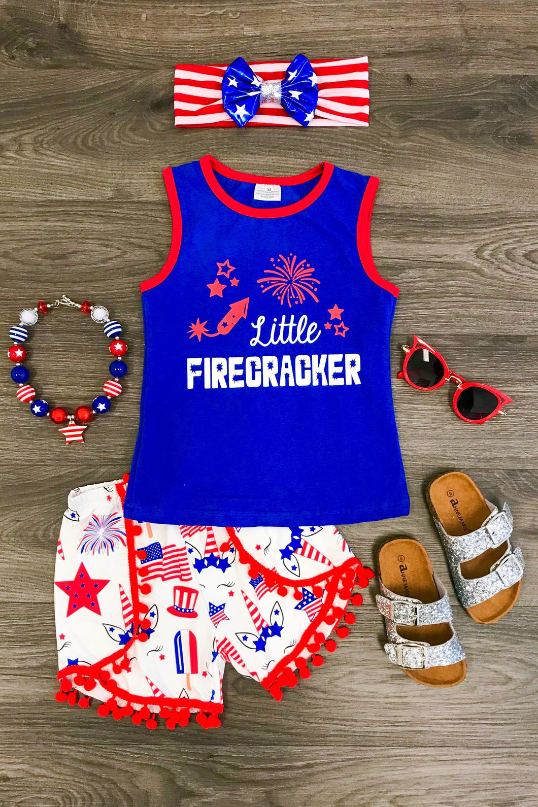 Little Firecracker Outfit