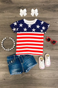 Patriotic USA Flag T-Shirt