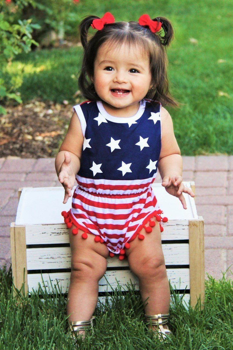 USA Baby Romper