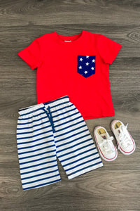 Stars and Stripes Short Set