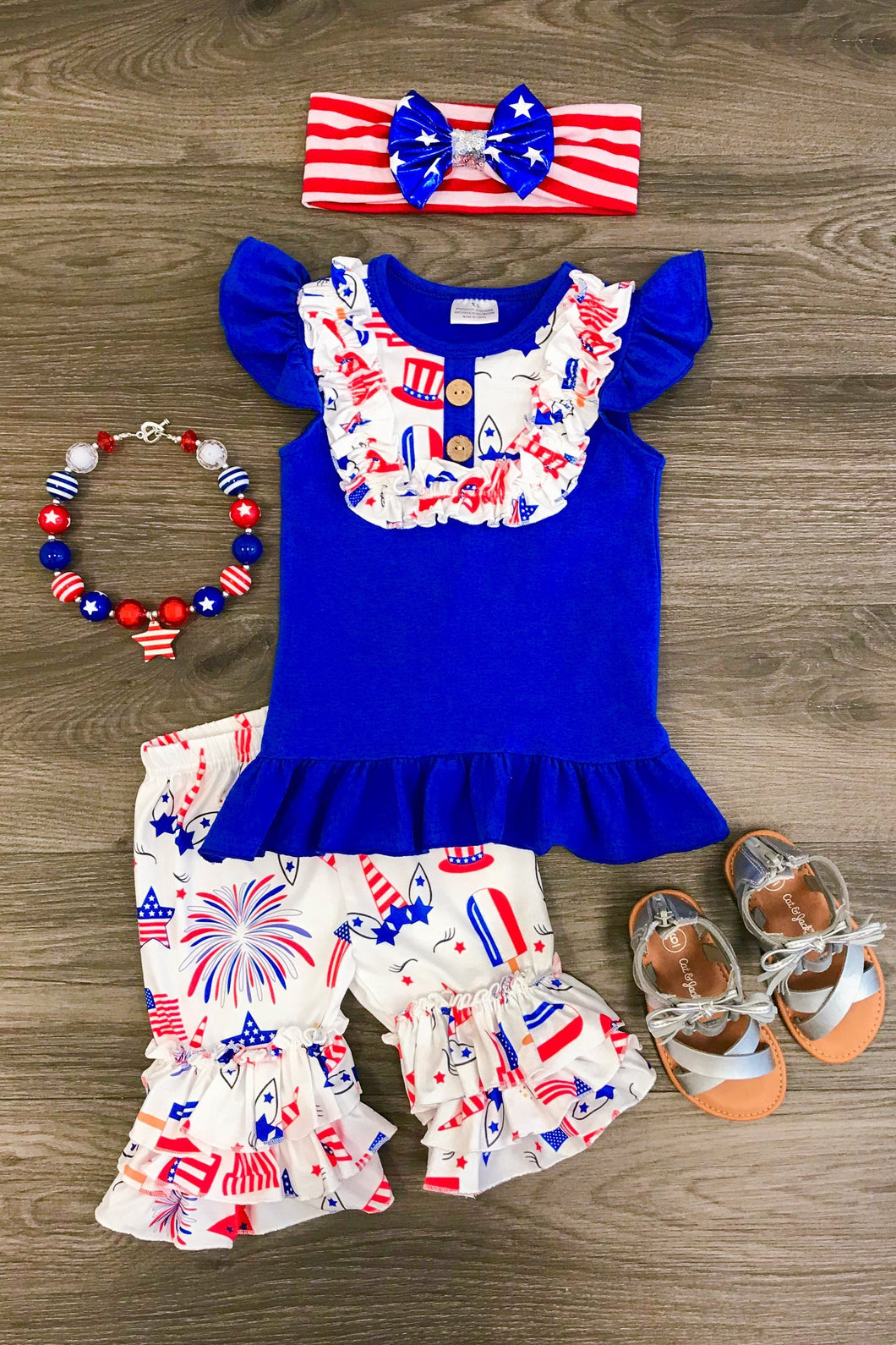 Uncle Sam Short Set
