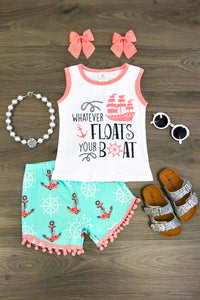 Whatever Floats Your Boat Short Set