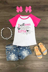 I Will Always be Daddy's Little Girl T-Shirt