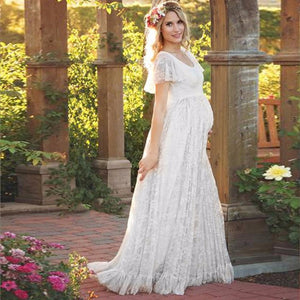 KATERINA Lace Maternity Dress
