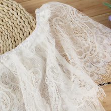 NAOMI Off Shoulder White Lace Dress