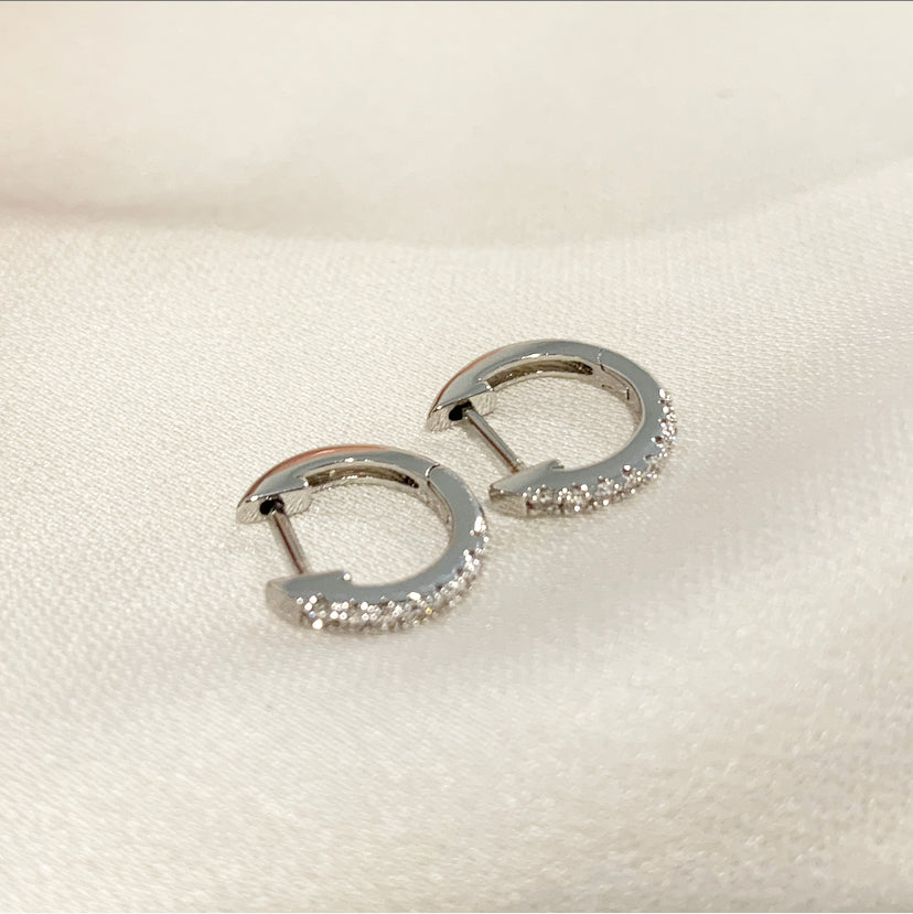 Always Earrings (White Gold)