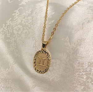 Monsieur Luxe the Zodiac Necklace