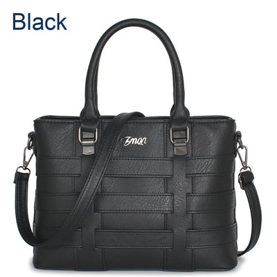 Power Woman Leather Handbag Ladies Hand Bags For Women