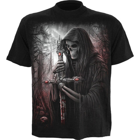 Image of SOUL SEARCHER - T-Shirt Black - Spiral USA
