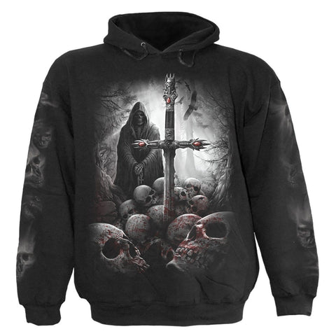 Image of SOUL SEARCHER - Hoody Black - Spiral USA