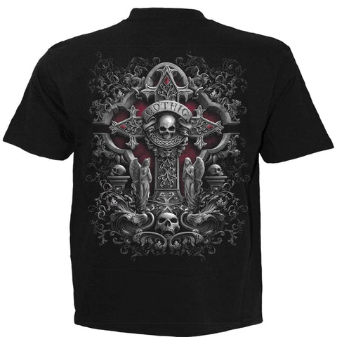 Image of IN GOTH WE TRUST - T-Shirt Black - Spiral USA