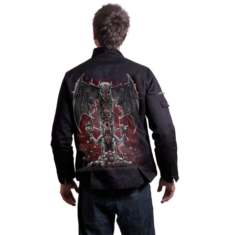 Image of DEMON TRIBE - Orient Goth Jacket Black - Spiral USA