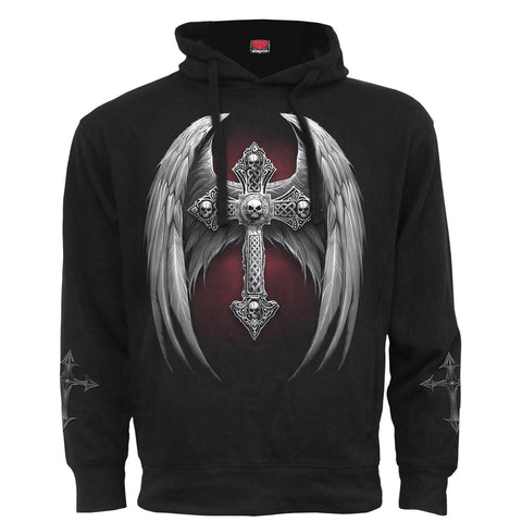 Image of ABSOLUTION - Side Pocket Hoody Black - Spiral USA