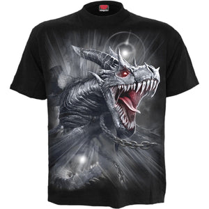 DRAGON'S CRY - T-Shirt Black - Spiral USA