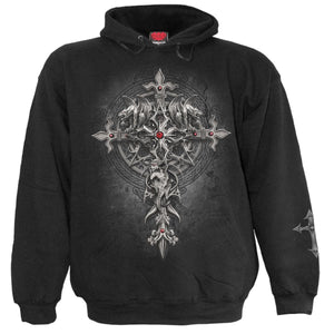 CUSTODIAN - Hoody Black - Spiral USA
