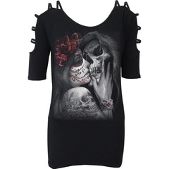 DEAD KISS - Ladder - Strap Shoulder Top