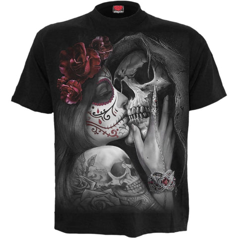 DEAD KISS - T-Shirt Black - Spiral USA