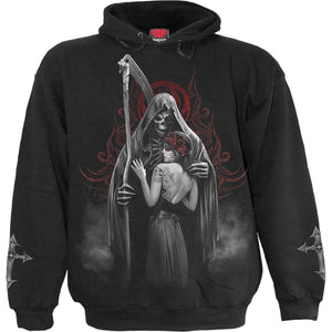 DEAD KISS - Hoody Black - Spiral USA