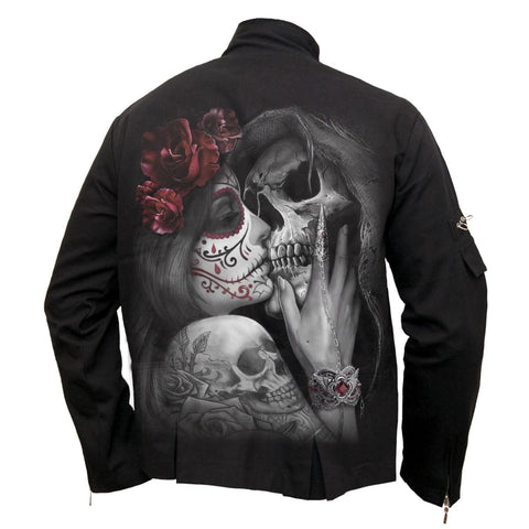Image of DEAD KISS - Orient Goth Jacket Black - Spiral USA