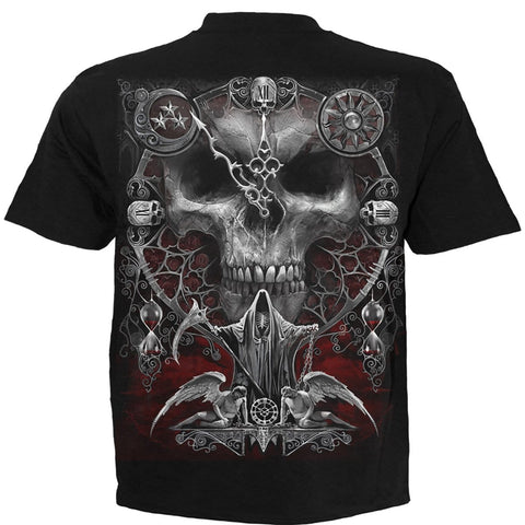 Image of SANDS OF DEATH - T-Shirt Black - Spiral USA