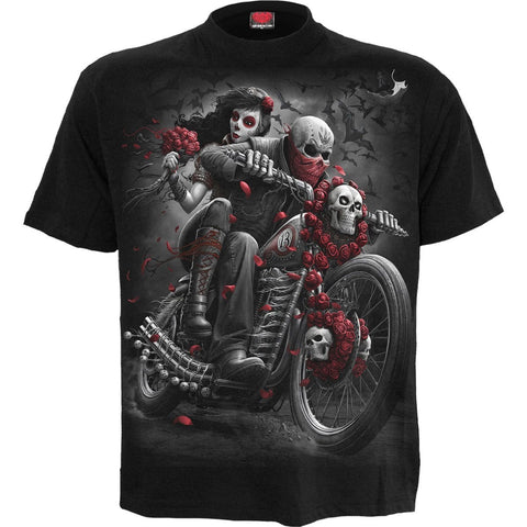 DOTD BIKERS - T-Shirt Black - Spiral USA