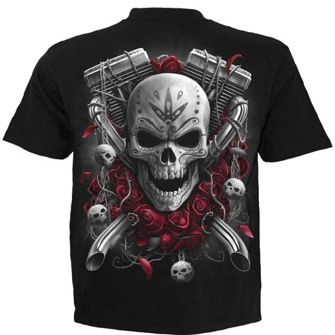Image of DOTD BIKERS - T-Shirt Black - Spiral USA