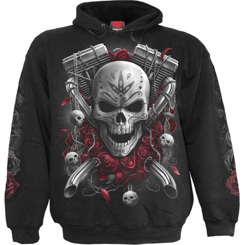 Image of DOTD BIKERS - Hoody Black - Spiral USA