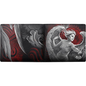 ANGEL DESPAIR - BiFold Wallet with RFID Blocking and Gift Box - Spiral USA