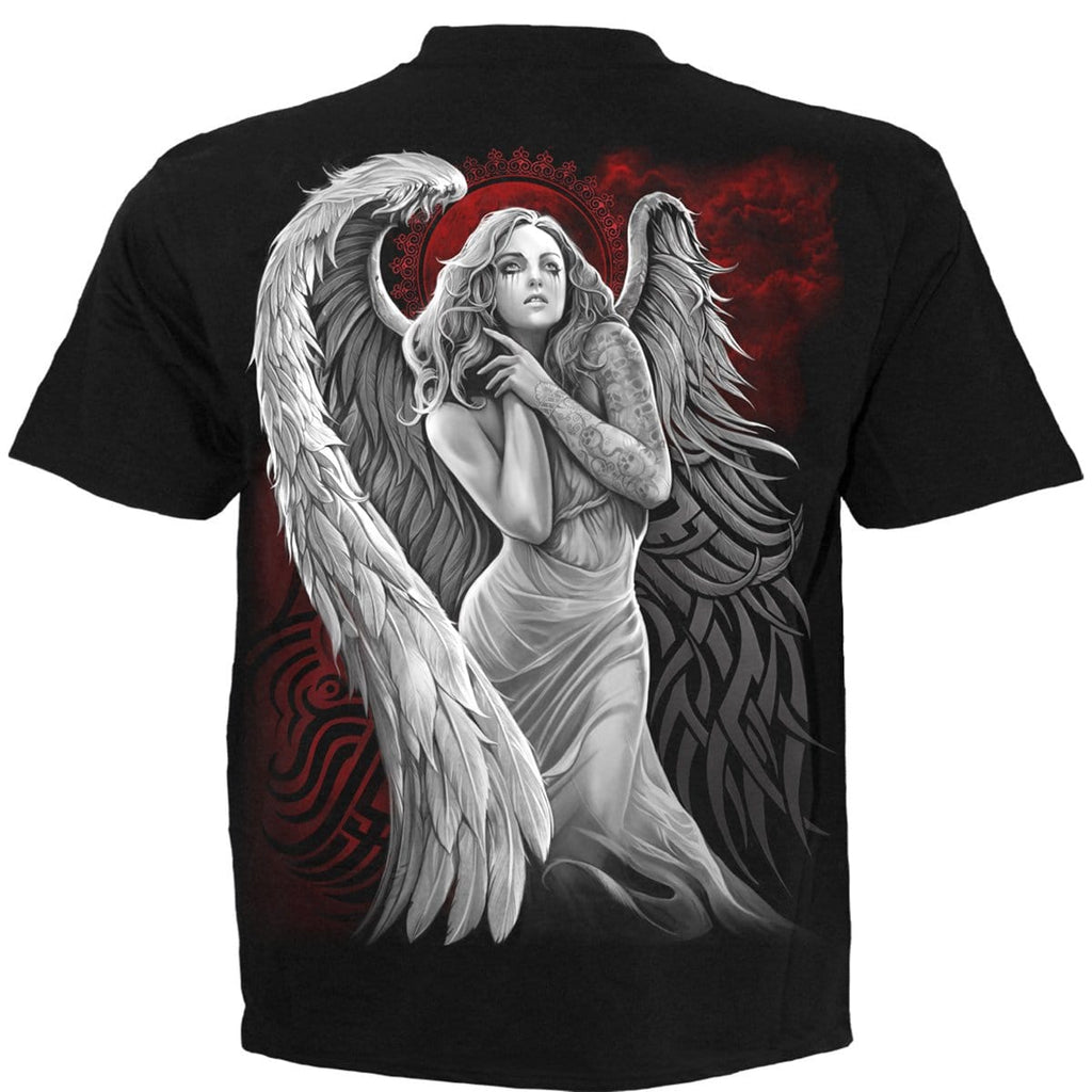 ANGEL DESPAIR - T-Shirt Black - Spiral USA