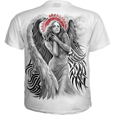 Image of ANGEL DESPAIR - T-Shirt White - Spiral USA
