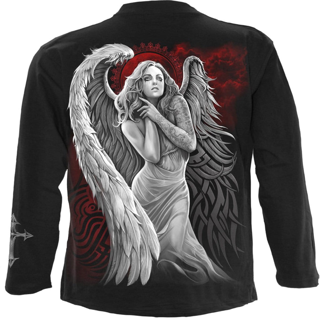 ANGEL DESPAIR - Longsleeve T-Shirt Black - Spiral USA