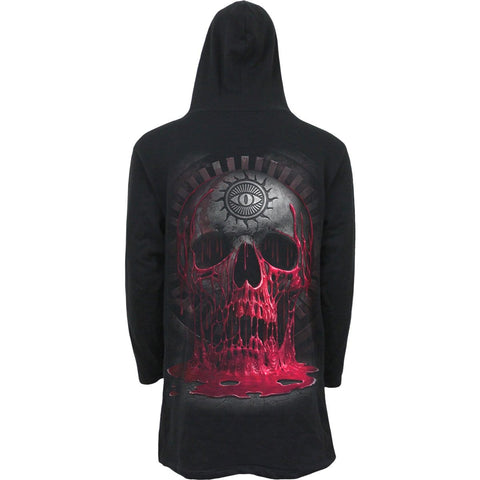 BLEEDING SOULS - Occult Hooded Cardigan - Spiral USA