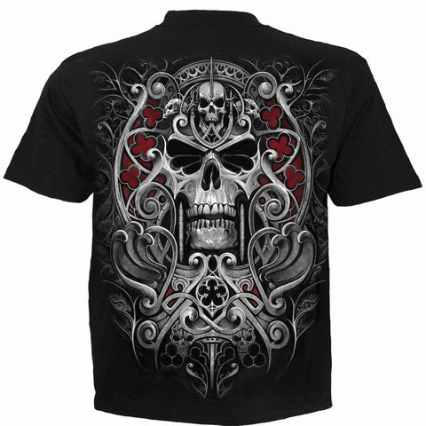 Image of REAPER'S DOOR - T-Shirt Black - Spiral USA