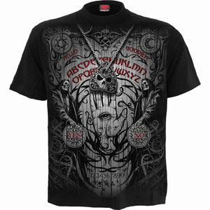 SPIRIT BOARD - T-Shirt Black - Spiral USA