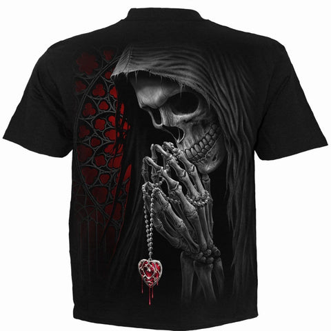 Image of FORBIDDEN - T-Shirt Black - Spiral USA