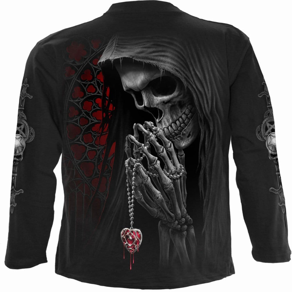FORBIDDEN - Longsleeve T-Shirt Black - Spiral USA