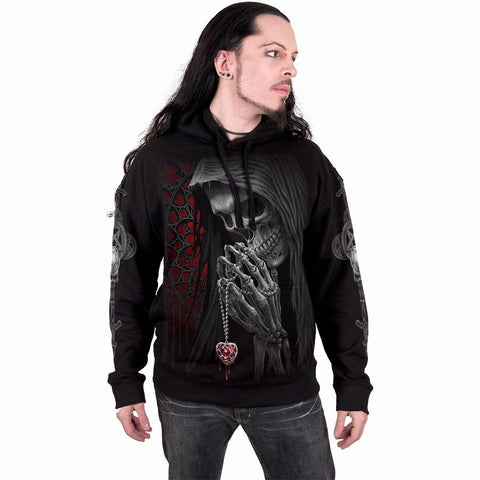 Image of FORBIDDEN - Hoody Black - Spiral USA