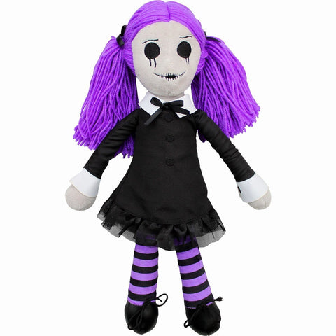 VIOLA - THE GOTH RAG DOLL - Collectable Soft Plush Doll - Spiral USA