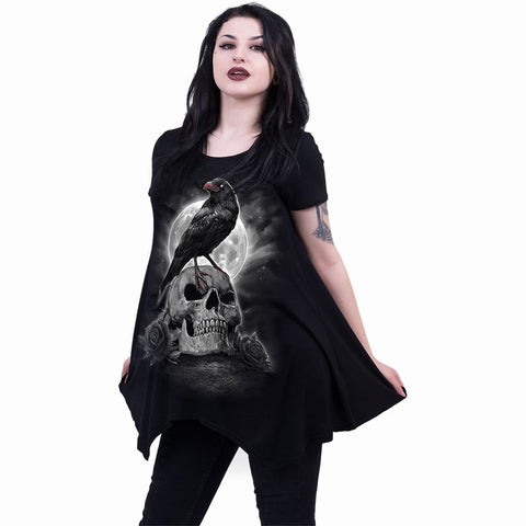 Image of GRAVE WALKER - Smock - Tunic Casual Top